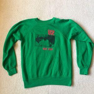 RARE Vintage U2 War Tour Sweatshirt SMALL